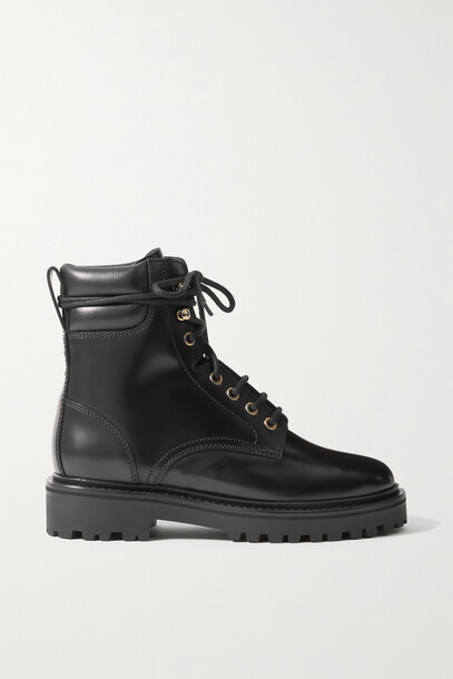 Isabel Marant - Campa Leather Ankle Boots - Black