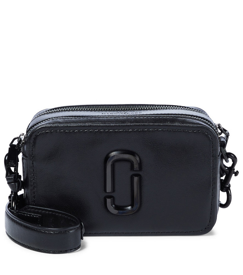 The Marc Jacobs The Softshot 21 leather crossbody bag in black
