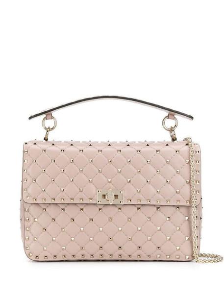 Valentino Garavani Rockstud Spike handbag in neutrals