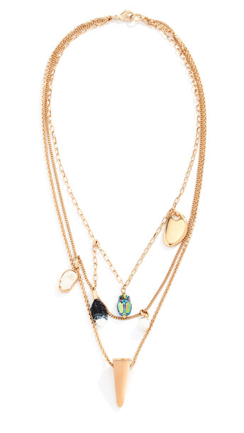Isabel Marant Collier Layered Necklace in multi