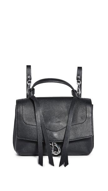 Rebecca Minkoff Stella Medium Convertible Backpack in black