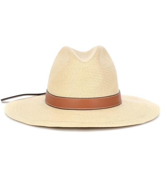 Loewe Paula's Ibiza Panama raffia hat in neutrals