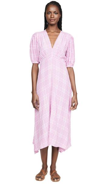 FAITHFULL THE BRAND Vittoria Midi Dress in print
