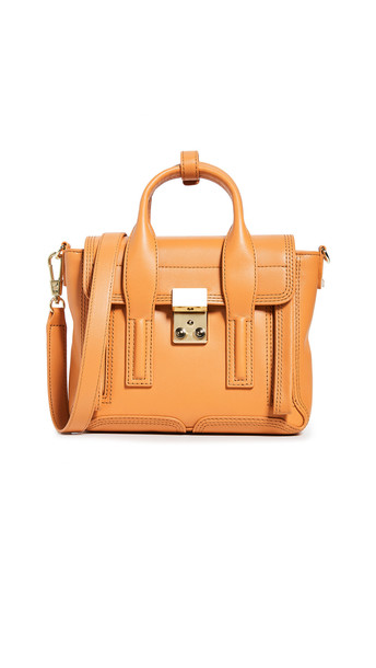 3.1 Phillip Lim Pashli Mini Satchel in saffron