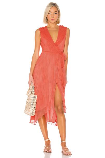 House of Harlow 1960 X REVOLVE Meriem Dress in orange