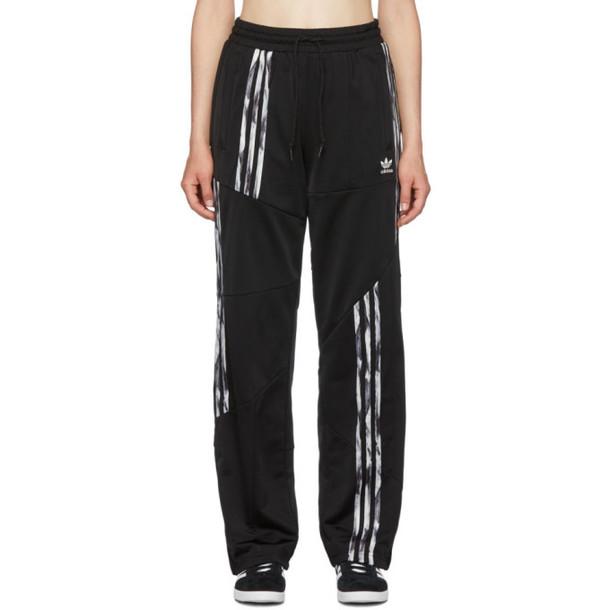 adidas Originals by Danielle Cathari Black Firebird Track Pants