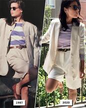 jacket,shorts,top