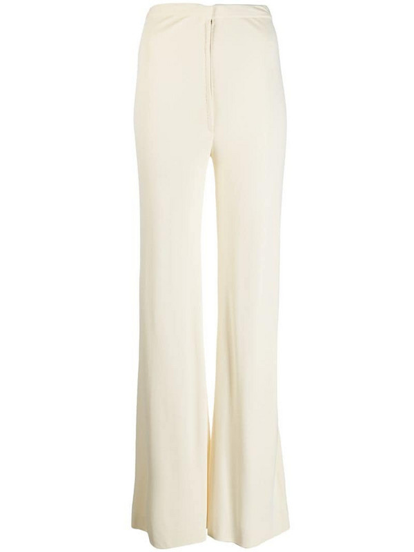 A.N.G.E.L.O. Vintage Cult 1970's flared trousers in neutrals