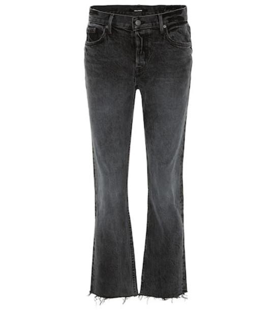 Grlfrnd Tatum high-rise bootcut jeans in blue