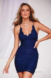 dress,navy dress,lace dress,mini dress,cocktail dress,homecoming dress,thin strap