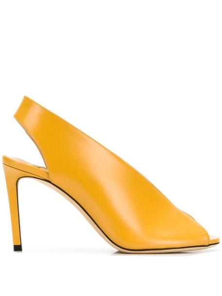 Jimmy Choo Shar 85 pumps in yellow