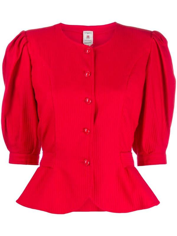 Emanuel Ungaro Pre-Owned 80s jacket in red