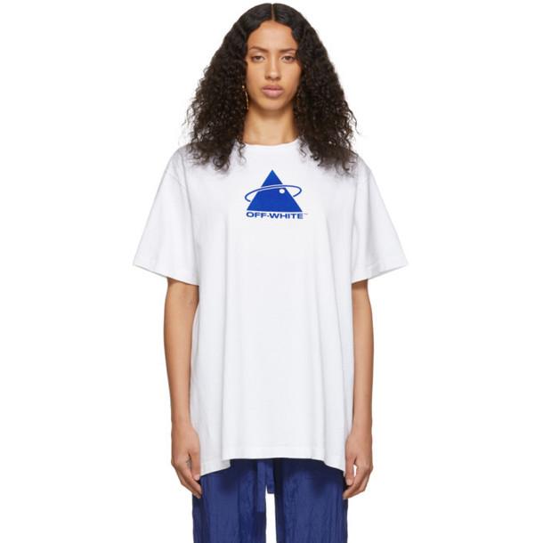 Off-White White Triangle Planet T-Shirt