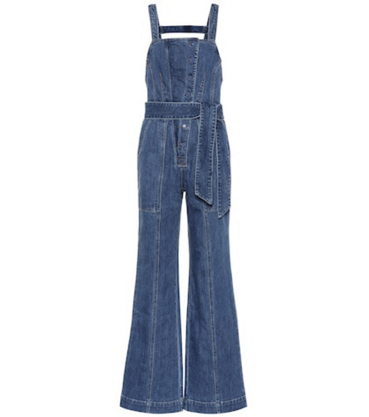Ulla Johnson Ash denim jumpsuit in blue