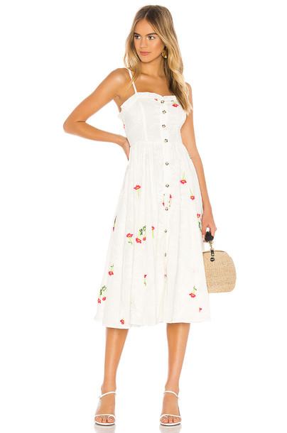 Tularosa Bria Dress in white