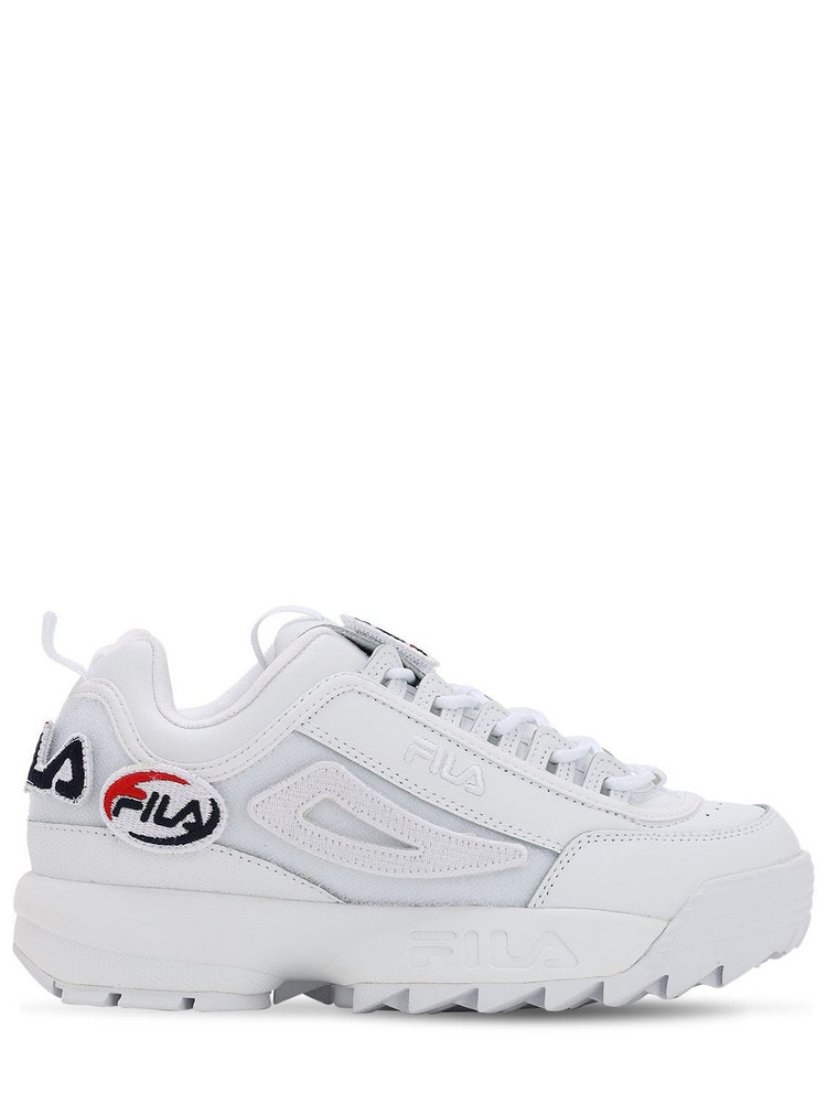 FILA URBAN Disruptor Patches Sneakers in white