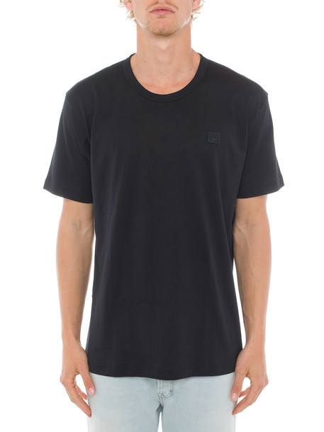 Acne Studios Nash Face T-shirt in black