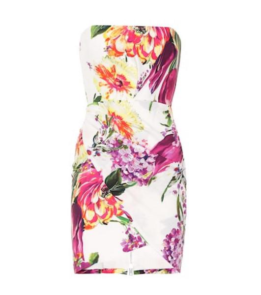 Alex Perry Caine floral crêpe minidress