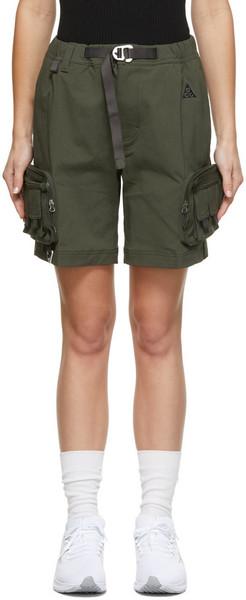 Nike Green ACG Cargo Shorts in purple