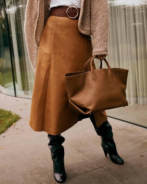 bag shoes skirt belt