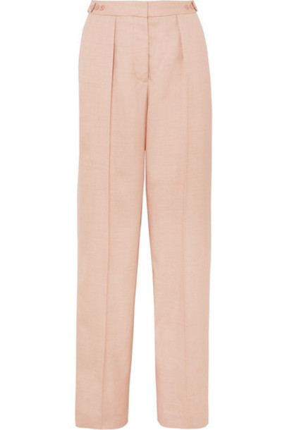 Stella McCartney - Woven Wide-leg Pants - Blush