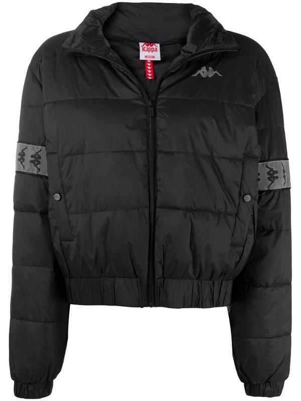 Kappa Doltan puffer jacket in black