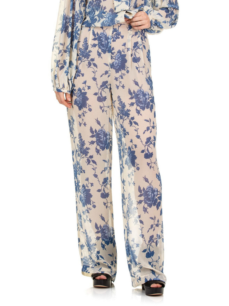 SEMICOUTURE Tropic Pants in white