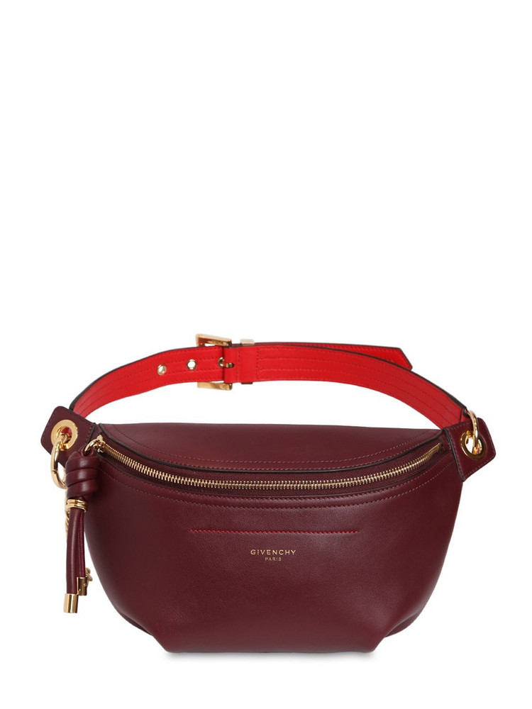 GIVENCHY Medium Whip Smooth Leather Belt Bag