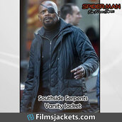 coat,movie,spider man far from home,celebrity,samuel l. jackson,jacket,fashion,style,menswear,lifestyle,mens  fashion,men's outfit