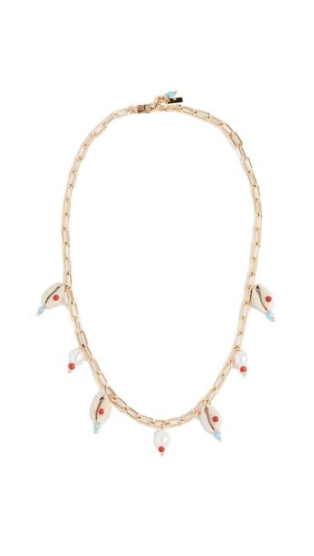Eliou Crete Necklace in gold / multi