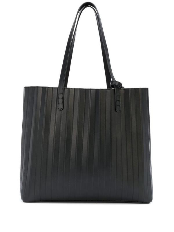 Mansur Gavriel pleated tote bag in black