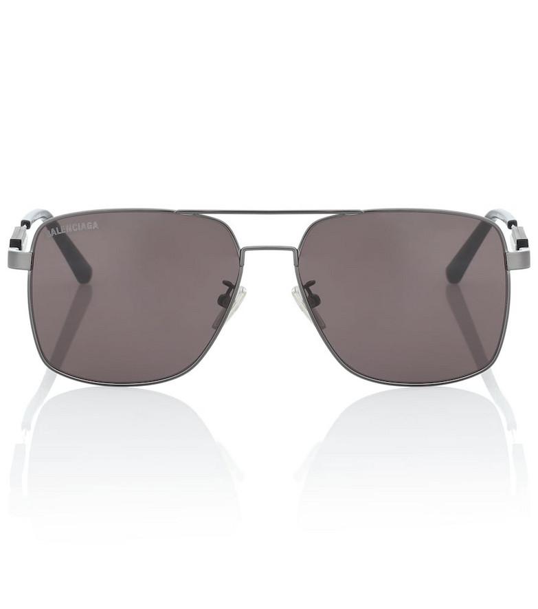 Balenciaga Aviator sunglasses in grey