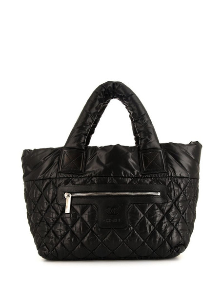Chanel Pre-Owned Coco Cocoon shopping bag in black
