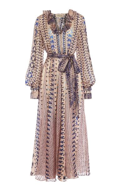 Temperley London Delilah Silk-Blend Dress Size: 6