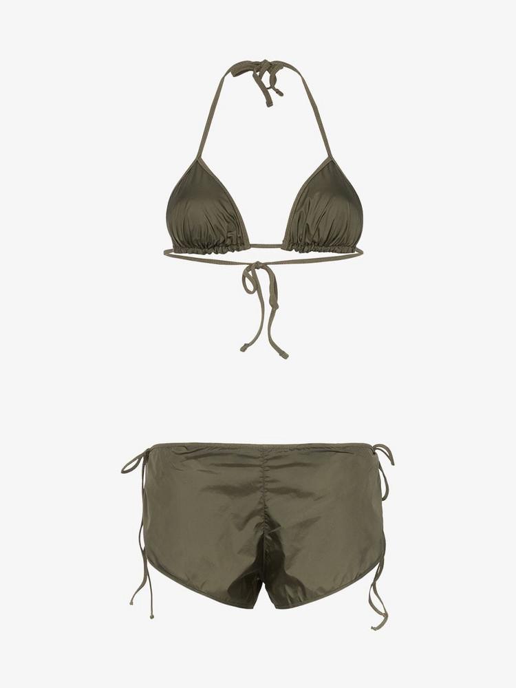 Ack Nautico traingle bikini in green