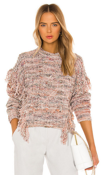 Joie Meghan Sweater in Pink, Grey in rose