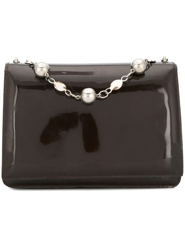 Pierre Cardin Pre-Owned 1960's wallet & chain bag in brown