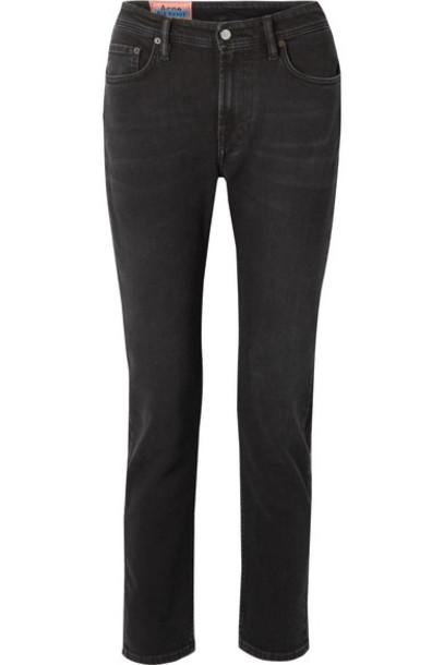 Acne Studios - Melk High-rise Skinny Jeans - Black