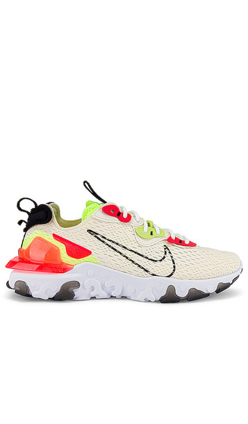 Nike NSW React Vision Sneaker in Ivory