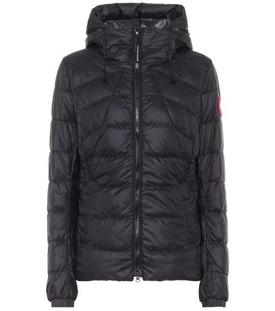 Canada Goose Abbott Hoody down jacket in black