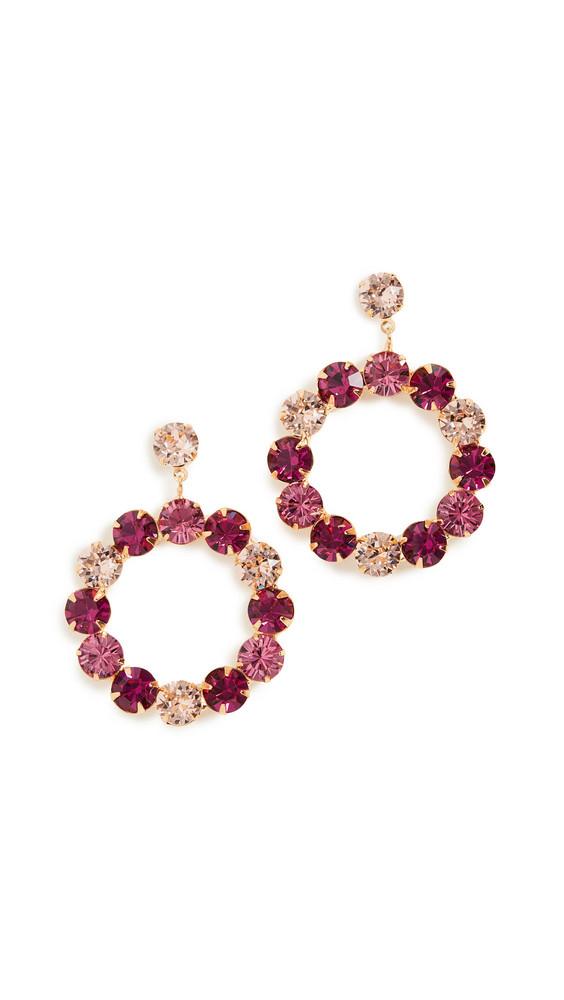 Jennifer Behr Maddox Earrings in rose / multi