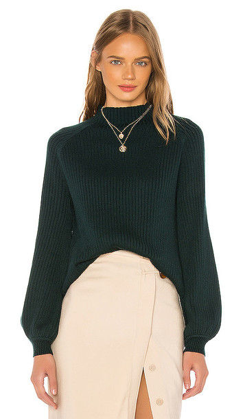 Song of Style Rylan Sweater in Green