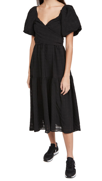 ASTR the Label Sonnet Dress in black