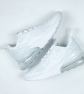 shoes,nike airmax 270,all white everything