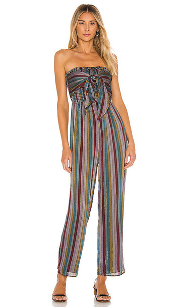 House of Harlow 1960 x REVOLVE Neela Jumpsuit in Grey,Red