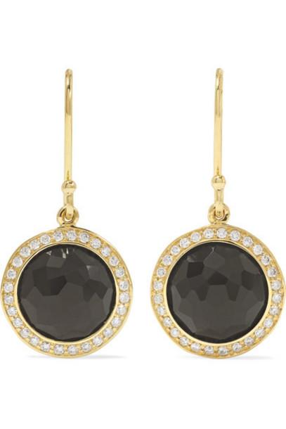 Ippolita - Lollipop 18-karat Gold Onyx And Diamond Earrings
