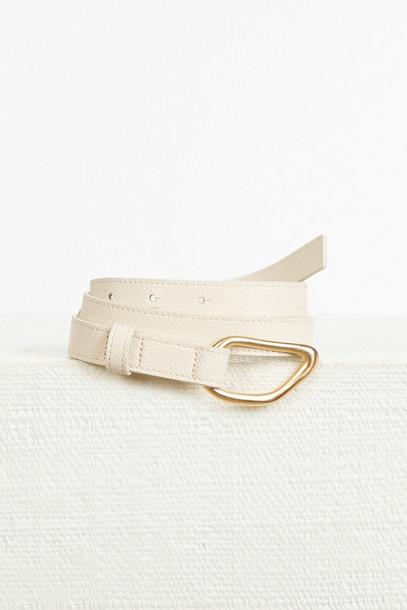 Cult Gaia Reza Belt - Off White                                                                                               $148.00