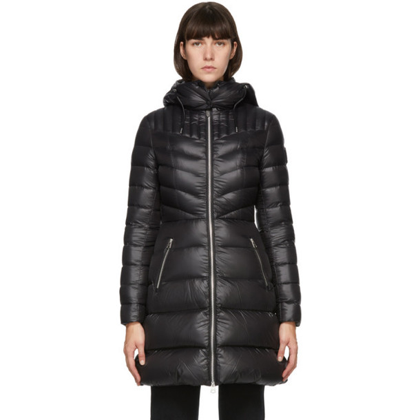 Mackage Black Down Lightweight Lara Coat
