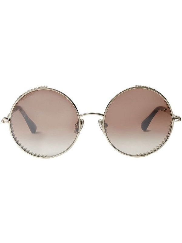 Jimmy Choo Eyewear Goldy sunglasses in brown