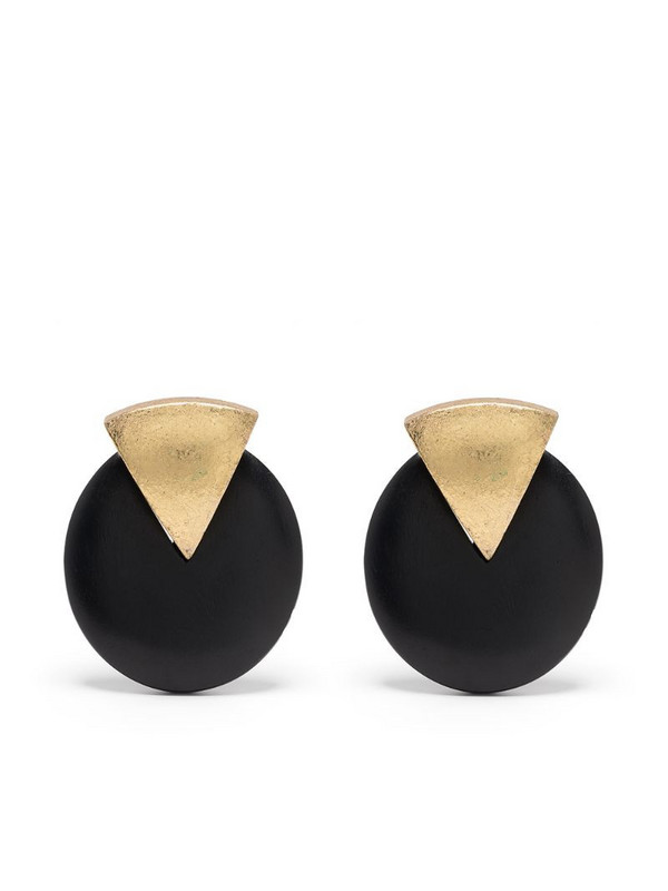 Monies Orecchini clip-on earrings in black